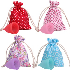 2017 FDA CE 100% Medical Silicone Lady Menstrual Cups, Reusable Menstrual Cup for Ladies