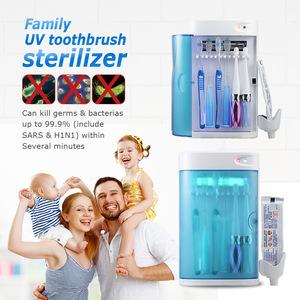 Family use UV Toothbrush sterilizer sanitizer