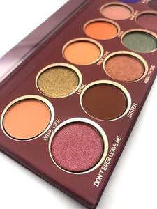 Private Label Beauty Makeup Vendor High Pigment Matte