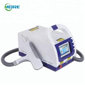 Hot sale professional beauty salon equipment q switch nd yag laser tattoo removal equipment