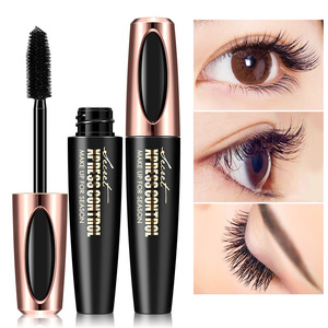 New Makeup Hot sale high quality 4D silk fiber EyeLash Extension mascara