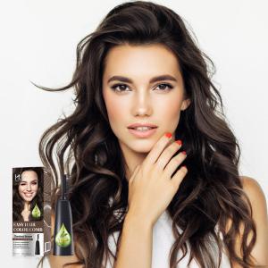 Personal use enhances luster natural hair color permanent dark ash brown hair dye
