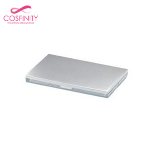 Popular silver color eye shadow container / powder case