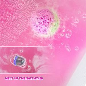 Private Label Natural Bubble Bath Fizzies Bath Bombs with toy