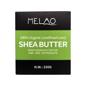 private label vendor 100% natural moisturizing organic refined whipped raw Unrefined cacoa shea body butter