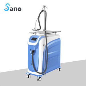 skin cooling system for laser skin treatment in laser beauty equipment
