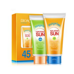 wholesale snail spf 30 sunblock sunscreen cream for skin care