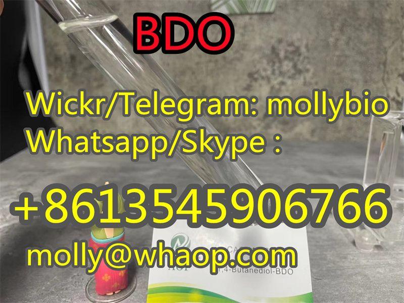 99% BDO / 1, 4-Butanediol   Cas 110-63-4 liquid Wickr mollybio