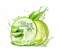 Korean cosmetics PURE ALOE SOOTHING GEL 95% OEM/ODM