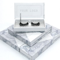 Branded and OEM Private Label Human Hair Eyelashes