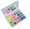 24 kinds of luminous eyeshadow makeup for Halloween party, sweatproof and waterproof eyeshadow in dark eyeshadow palette