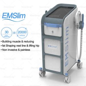 2021 4  handles EMS Fitness machine/ EMS Muscle Stimulator / Ems HIEMT Muscle Stimulation Weight Loss Body Slimming machine