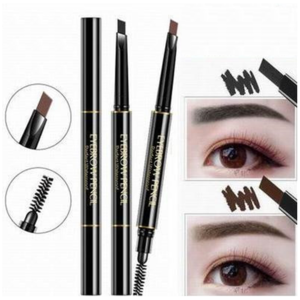Aliexpress wholesale oem cosmetic art waterproof best party queen eyebrow marker tint pen pencil private label eyebrow pencil