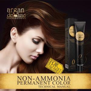 Argan deluxe non-amonia burgundy hair color