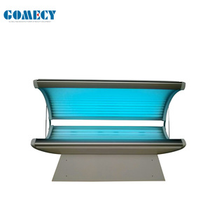 Beauty salon use wholesale price lay down style solarium tanning beds