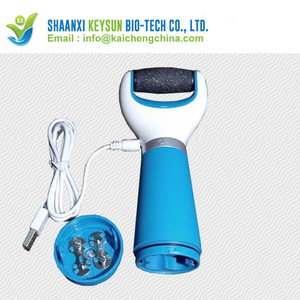 Foot skin care to the exfoliating foot pedicure machine