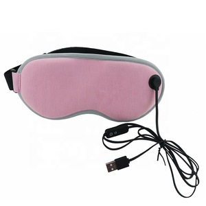 Heated Warm Temperature Control Therapeutic Treatment for Dry Eyes Hot Steam Soothing Eye Stress USB Electric Heating Eye Mask