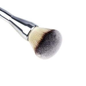 hot selling dual ended facial makeup brushes dry powder contour cosmetic tools