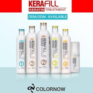 Kerafill private label Keratin hair Treatment For hair straightening