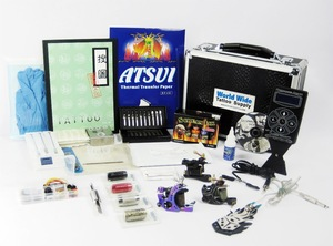 Professional Tattoo Machine Kits Sale, Rotary Tattoo Gun Type Tattoo Kits