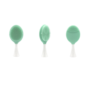 Waterproof Silicone Facial Cleansing Brush Replacement Head Compatible with Xiaomi Electric Toothbrush Bases