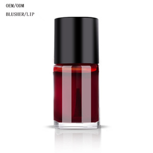 Wholesale korean lip tint oem and cheek  liquid color blush makeup