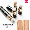 2021 New Barbara 3 IN 1 Vegan Makeup Brush | Foundation + Contour + Blush