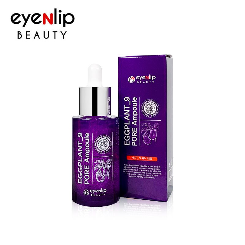 [EYENLIP] Eggplant_9 Pore Ampoule 30ml - Korean Skin Care Cosmetics