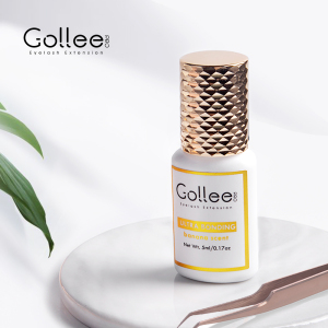 Gollee Banana Latex Free Extention Korean Eye Lash Glue Eyelash Extension Eyelash Extension Glue Private Label Eyelash Glue