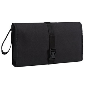 hanging toiletry bag for women makeup in organize large size black