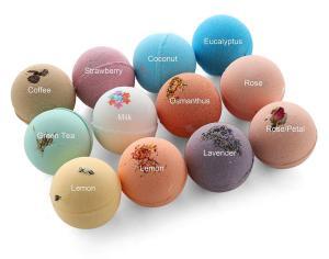 Hot Selling Gift Set Private Label Handmade Colorant Press Bubble Natural Vegan Organic Fizzy Cbd Hemp Bath Bombs For Kids