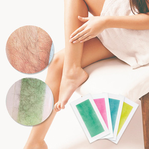 Lanbena Yellow Hair Removal Wax Strips For Women Big Size