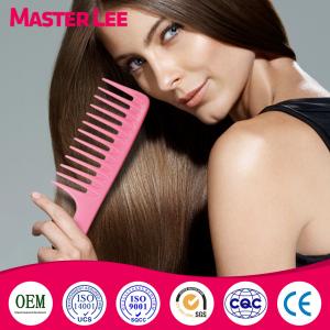 Masterlee Brand Salon Products Wide Teeth Cutting Hair Comb Plastic Big Comb