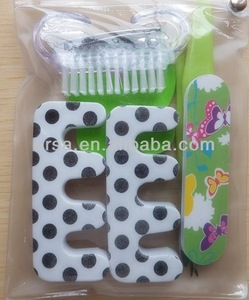 Nail Art Cleaning Nail Brush Nail Tool,EVA cloven toe separator