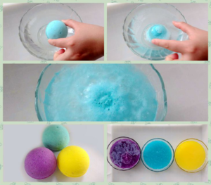 Natural bath bombs bubble bars bath melts bath bomb gift sets 6 pcs packaging