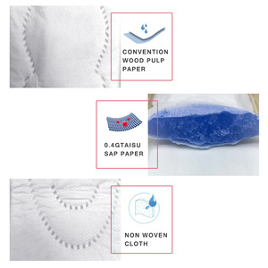 OEM brand name China factory best cotton sanitary pads in india