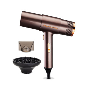 OEM manufacturer light smart T style Hair Dryer New design Salon Hair Blow Dryer with Diffuser Concentrator Nozzle