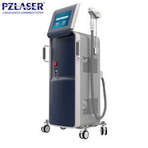Painless Tree Wavelength 808nm diode laser Beauty Machine Medical Laser Treatment Equipment
