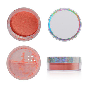 Trending Products 4 Color Loose powder highlighter makeup private label pigmented makeup foundation for all skin