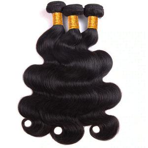 Wholesale Hair Bulk 1Kg/2Kg/3Kg Grade 10A Peruvian Body Wave Bundles