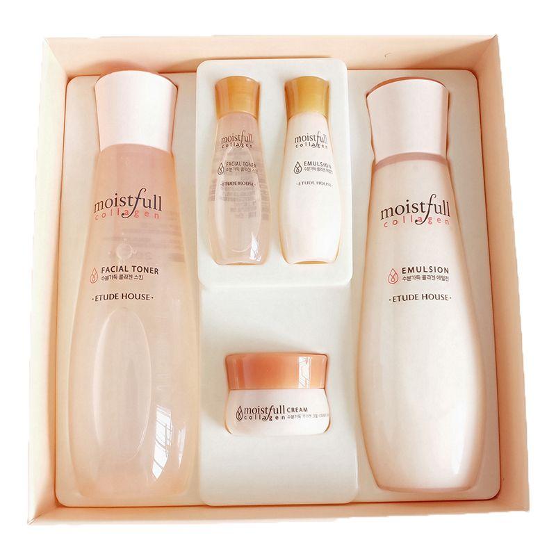 Etude House Moistfull Collagen Skin Care 2-Item Gift Set + Travel Size 3-Item
