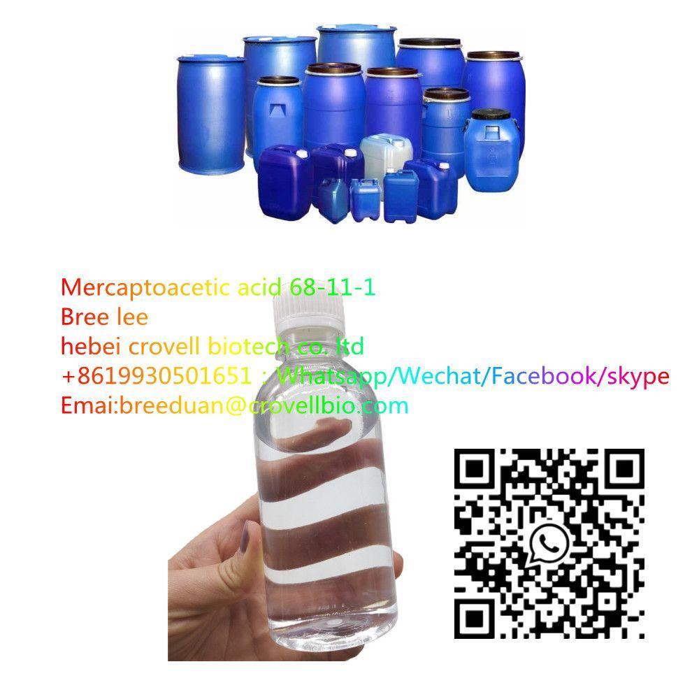 Manufacture Supply 68-11-1 Thioglycollic Acid other name Mercaptoacetic acid (TGA) uses in cosmetics 0086   19930501651