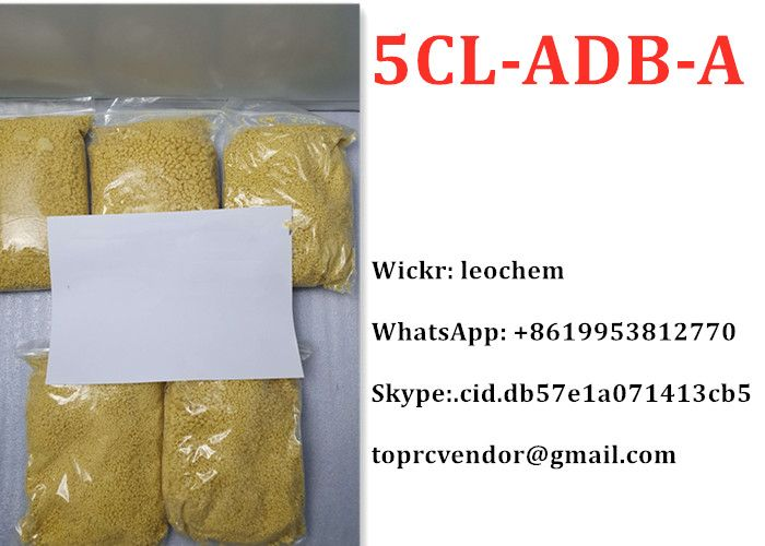 5cladba 5CL-ADB-A 5cl yellow powder in good price strongest cannabinoid  WhatsApp: +8619953812770