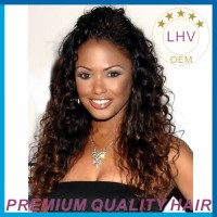 100% remy human hair tight curly human hair clip on hair extensions