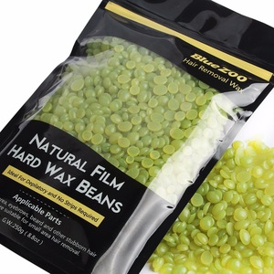 10 Flavors Natural Film Hard Wax Beans European Hair Removal Depilatory Wax