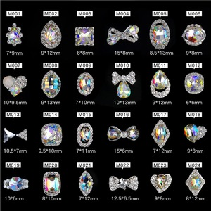 2019 nail decoration free sample diamond 3d designs accessories nail art