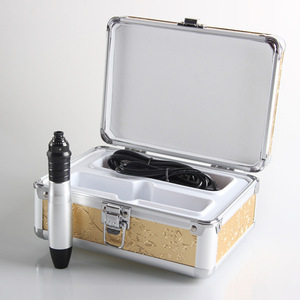Automatic Skin Nurse System Derma Stamp Electric Pen With 12 Needle Kit for Skin Rejuvenation Wrinkle Removal
