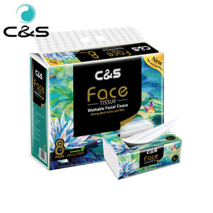 Chinese Supplier Face Cleaning Tissue Paper Soft Touch Tissue Facial Tissue