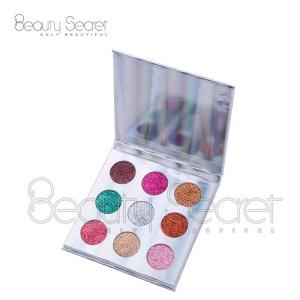 High quality makeup  9 colors eyeshadow pan 26mm cruelty free eyeshadow custom logo