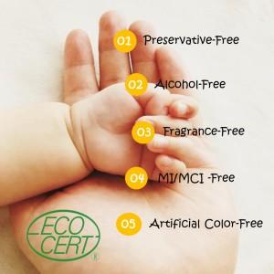ODM OEM private label baby oil natural herbal body massage oil baby loton cream gel